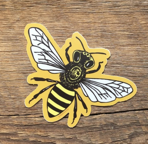 Noteworthy Bee Sticker
