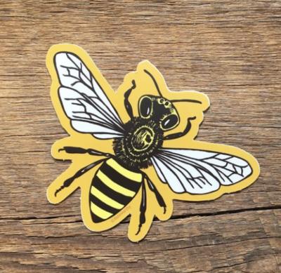 Noteworthy Bee Sticker