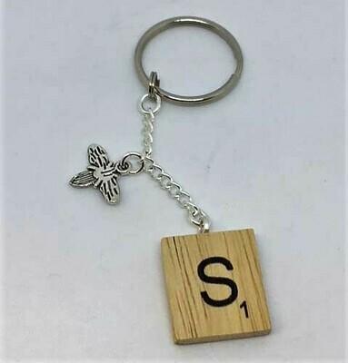 Key Chain-Scrabble Letter