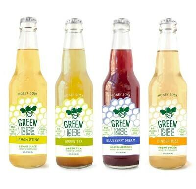 Green Bee Honey Soda