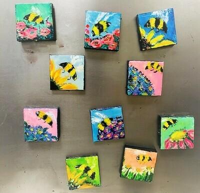 Magnet - Bee Art