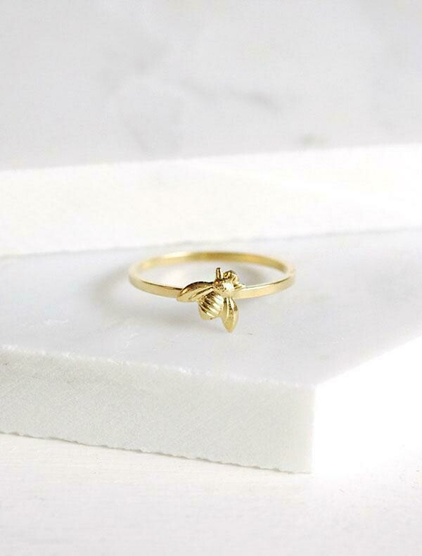 Tiny Bee Ring