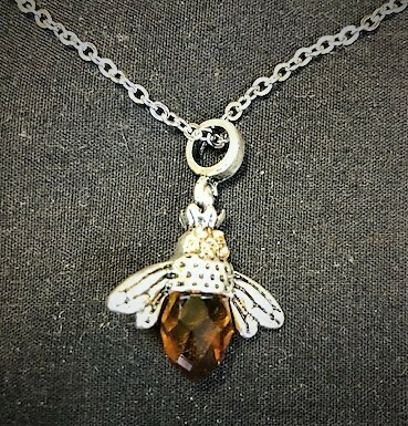 Crystal Bee Necklace 20