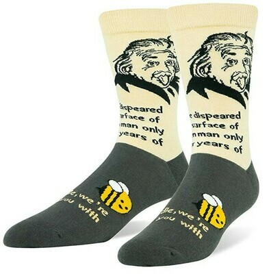 Einstein Bee Sock