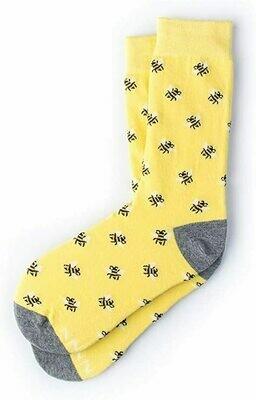 Bee Yourself Womans Sock