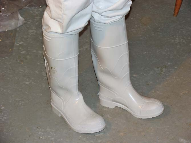 White Boots-Dunlop 81012