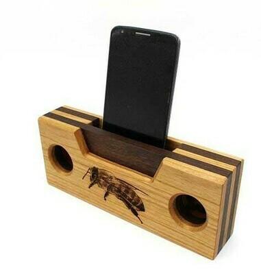 Wooden Phone Speaker