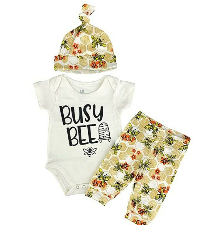 Busy Bee Baby Layette