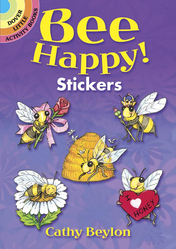 Bee Happy! Sticker Book