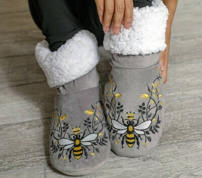 Queen Bee Booties