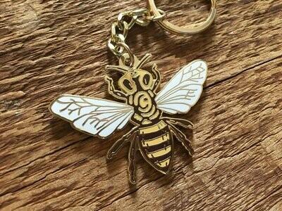 Noteworthy Bee Key Chain