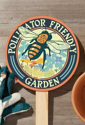 Sign - Pollinator Friendly