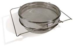 Stainless Double Sieve - SIE2