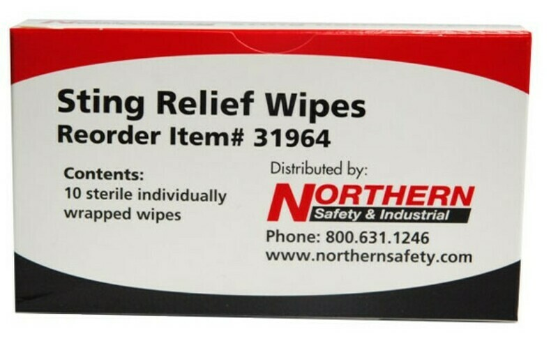 Sting Relief Wipes DC-210