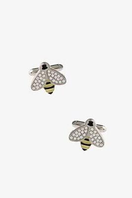 Lucky Honey Bee Cuff Links