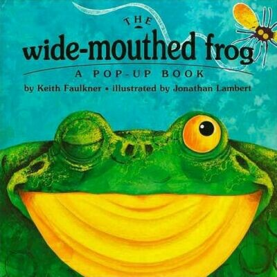 Wide Mouth Frog - Pop-Up Book