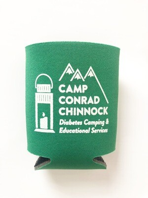 Camp Chinnock Drink Koozie