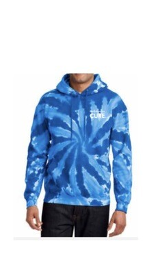 Blue Tie Dye Pull Over Sweater