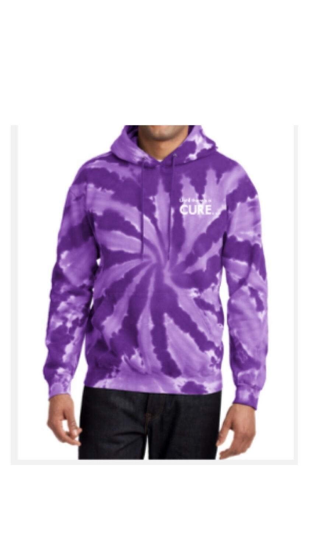 Purple Tie Dye Pull Over Sweater