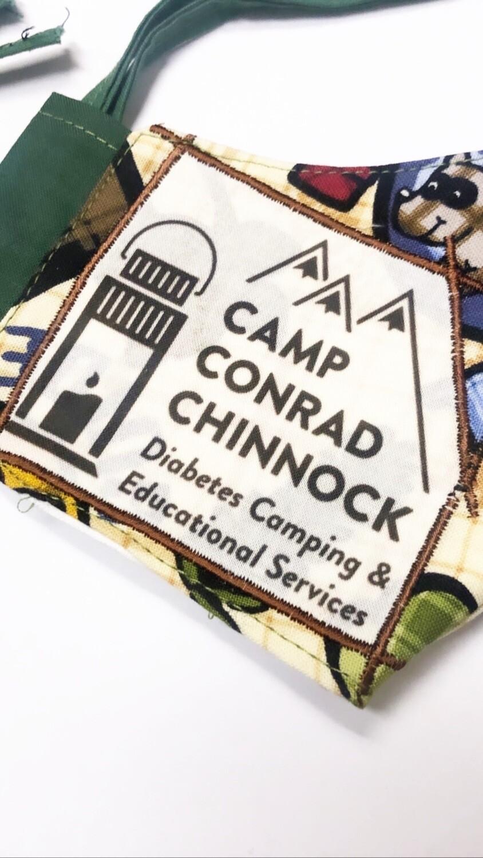 Youth Size -Camp Conrad Chinnock Face-mask