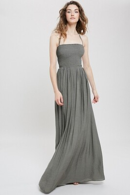 Maxi Dress in Olive