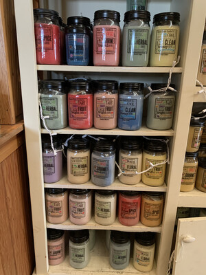 Candles - Swan Creek 12oz  $14.95 24 oz $21.95