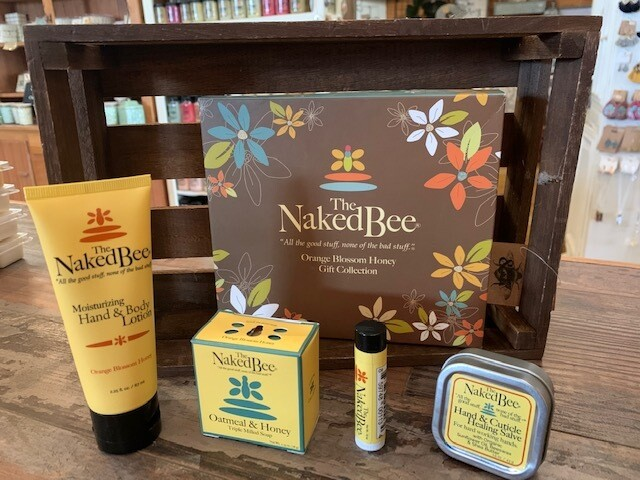 Orange Blossom Naked Bee Large Gift Set