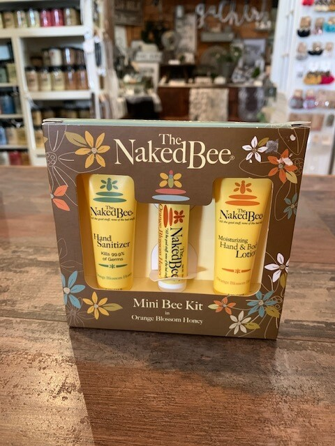 Orange Blossom Naked Bee Mini  Gift Set