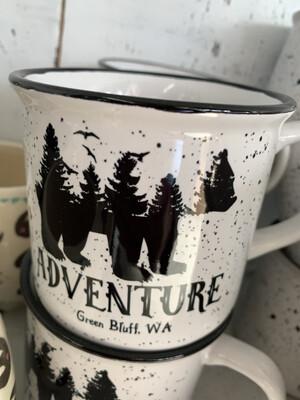 Green Bluff Mugs