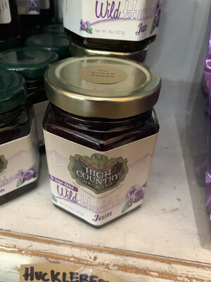 Huckleberry Jam - No Sugar Added