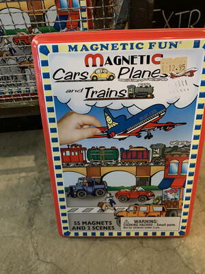 Magnetic Cars Planes & Trains
