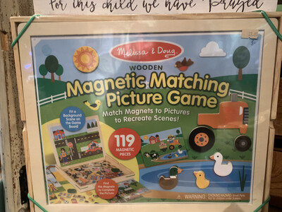 Magnetic matching & Picture Game 119 pieces