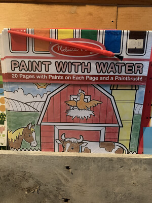 Paint with Water 2 pages Farm