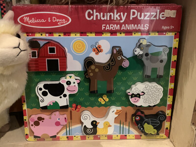 Chunky Puzzle Farm Animals Ages 2+