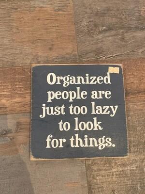 Organized People 7x7