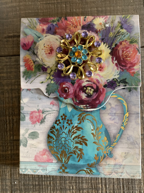 Floral Stationery Note Pads