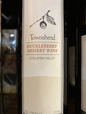 Townshend Huckleberry Dessert Wine