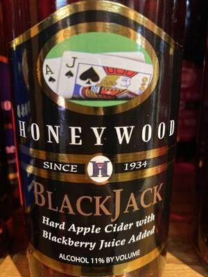 HoneyWood Black Jack Hard Cider