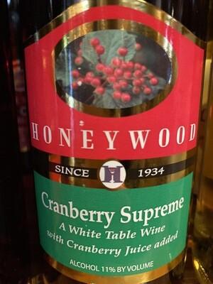 HoneyWood Cranberry Wine