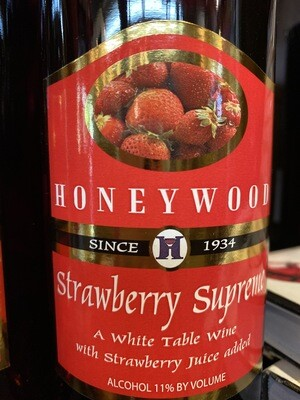HoneyWood Strawberry Wine