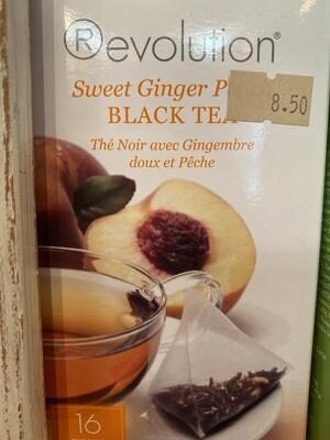 Revolution Sweet Ginger Peach Tea