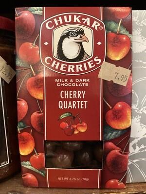 Chukar Cherries - Milk & Dark Chocolate Cherry Quartet
