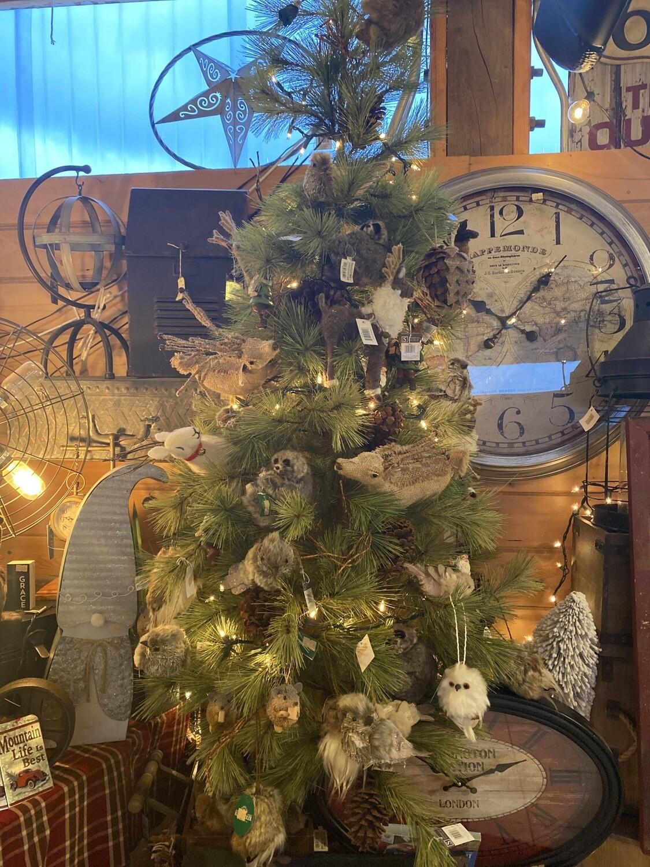 Critter Christmas Tree Display