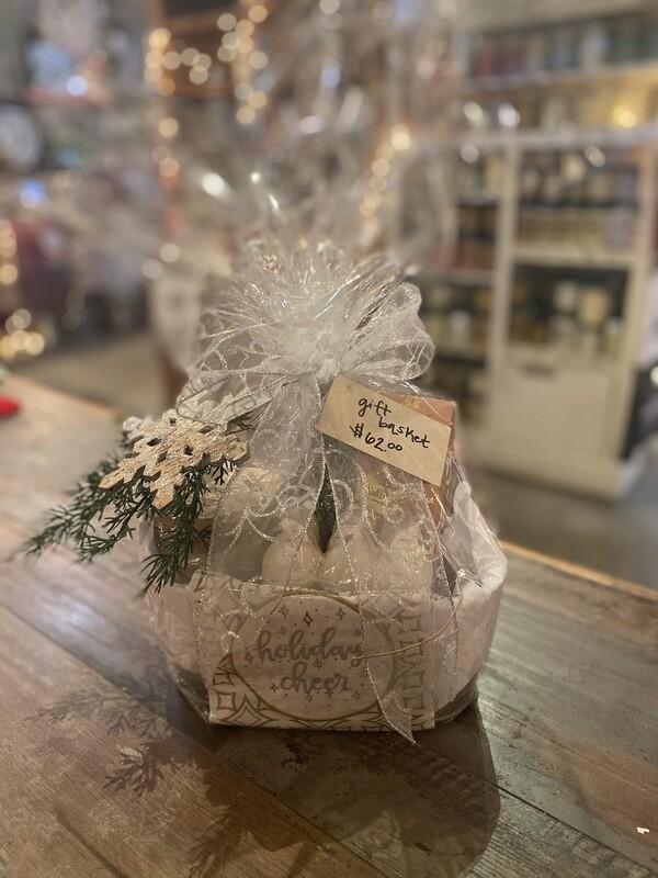 Small Holiday Gift Basket