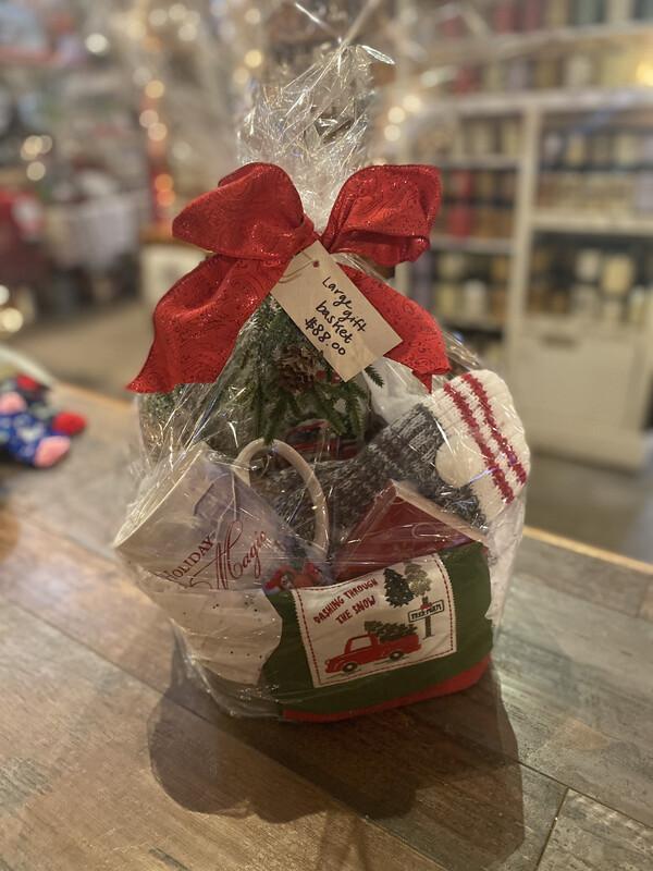 Large Holiday Gift Basket
