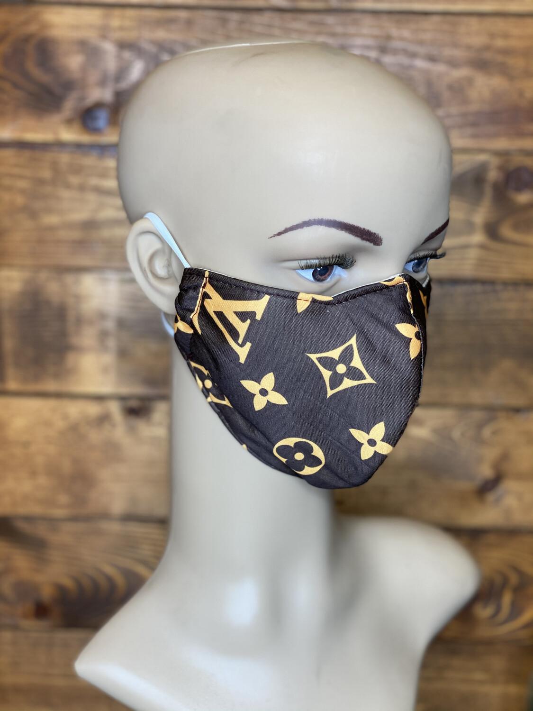 Face Mask- BRN/YW LV