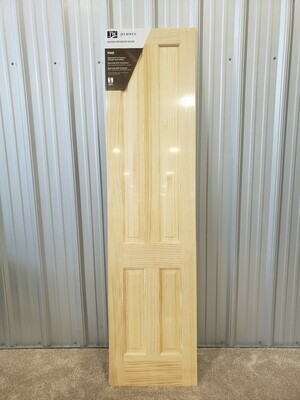 4 Panel Solid Pine Door 24