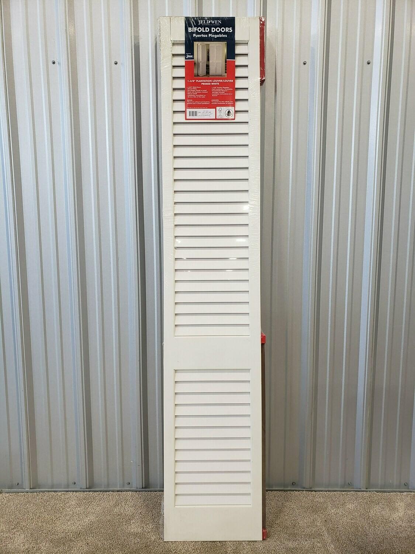 """36"""" x 96"""" NEW Prime White Bi-Fold Door #2046"""