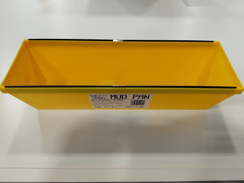 "MUD PAN--14"" X 4-1/2""--FOR DRYWALL MUD"