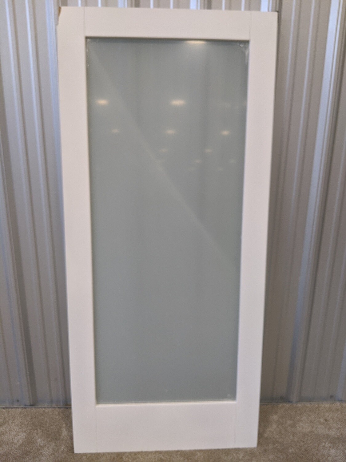 "36"" Glass Panel Door #1815"